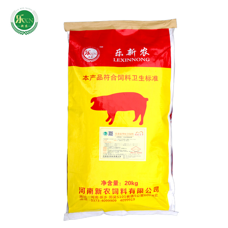 乳猪前期配合饲料粉粒